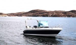 Enjoy Fishing near Tromsø, Norway on 19' Kaasbøll