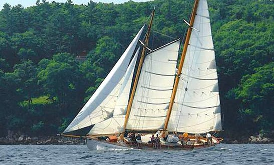 Experience Maine On 65ft Classic Schooner Yacht