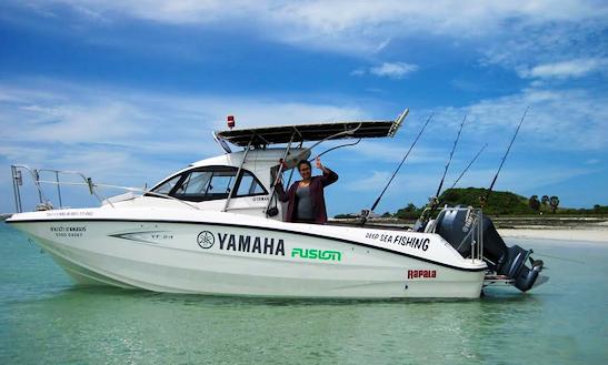 Charter 26' Yamaha Cuddy Cabin In Muang Pattaya, Thailand