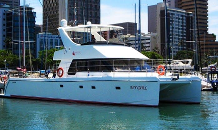 Charter My Girl Power Catamaran Durban, South Africa