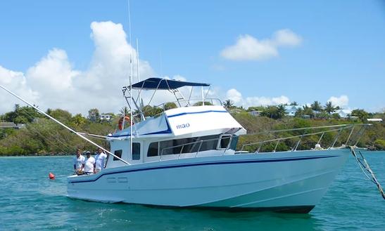 Enjoy Fishing In Trou D'eau Douce, Mauritius On Sport Fisherman