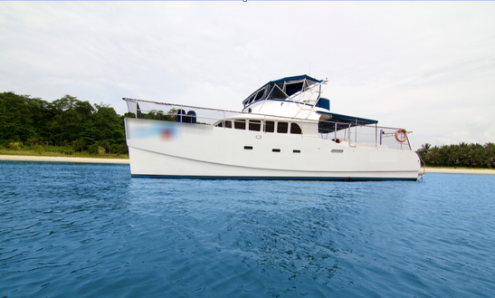 Charter 53' Power Catamaran In Serapong, Singapore