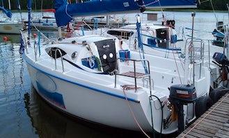 Antila 22 Sailing Yacht Rental in Wilkasy