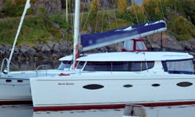 Salina 48 Sailing Catamaran Charter in Tromsø, Norway