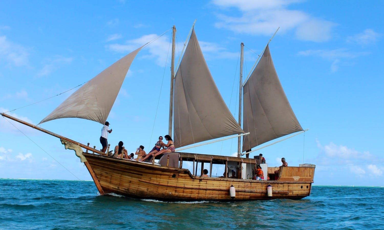 Charter a Sailing Schooner in Trou d'Eau Douce, Mauritius