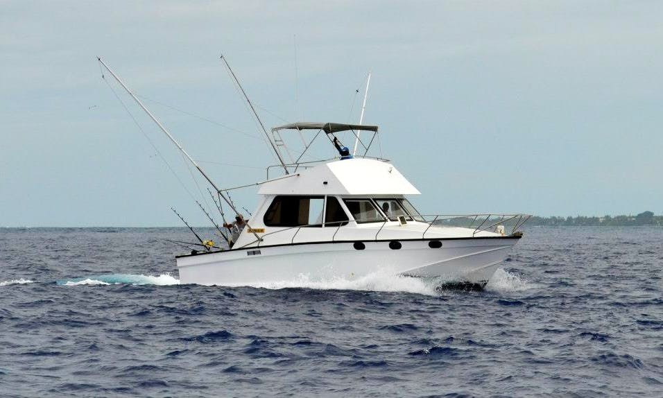 Daily Fishing Trip in Grande Riviere Noire, Mauritius on Sport Fisherman