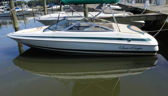 8 Person Chris Craft Bowrider For Charter In Woodbridge, Virginia