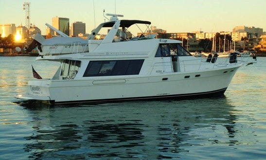 54' Private Motor Yacht Charter In Isleton & Sacramento, Ca