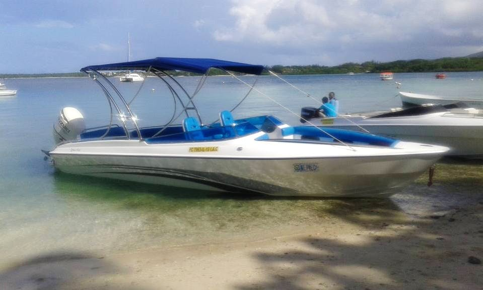 Charter the one and only Bowrider in Trou d'Eau Douce, Mauritius