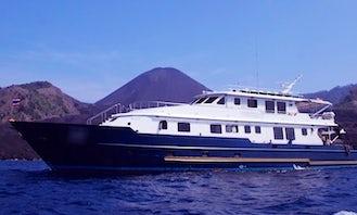 "Captained Charter on 114ft ""Panunee"" Mega Yacht  in Bangkok"