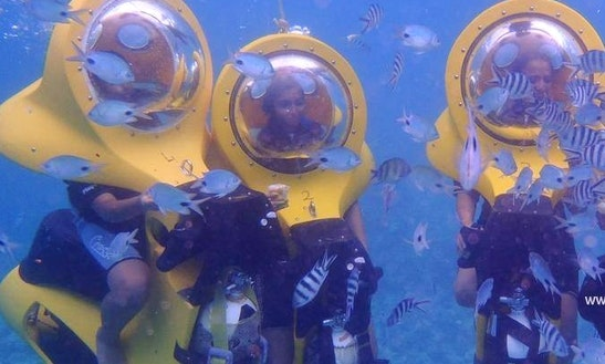 Enjoy Scuba-doo Scooter Dive In Pointe Aux Biches, Mauritius