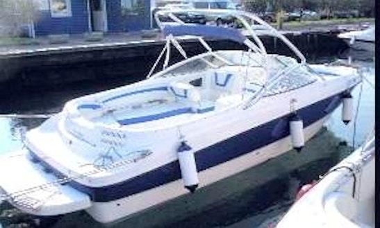 Deck Boat For Pyramid Lake, Castaic, Laughlin, Lake Havasu, Shasta, Big Bear