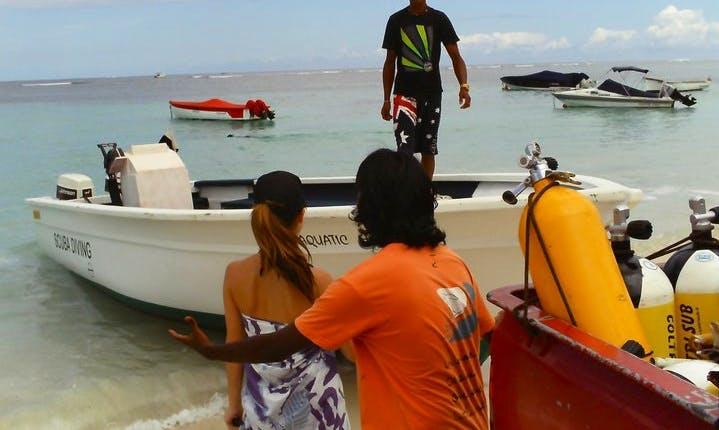 Enjoy Diving Courses in Tamarin, Mauritius