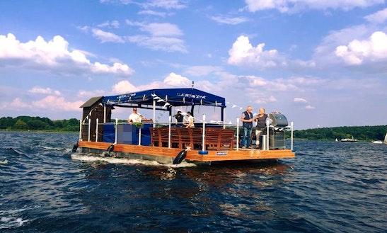 Charter Big Motor Raft In Berlin, Germany
