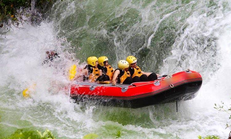 White Water Rafting Trips in Lower Kaimai