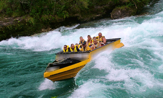 Charter A Jet Boat In Wairakei, New Zealand