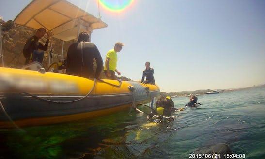 Rib Diving Charter In Playa Del Arenal, Spain