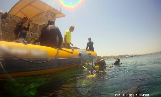 Rib Diving Charter In Playa Del Arenal, Spain