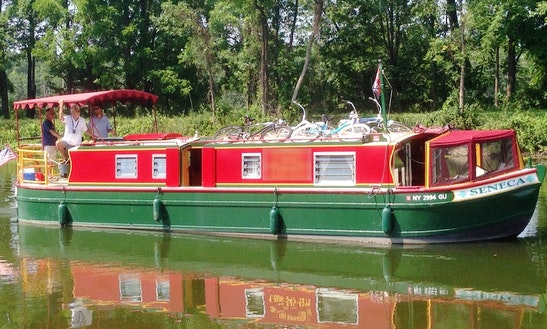 Erie Canal Boat Rental - 42' Canal Boat
