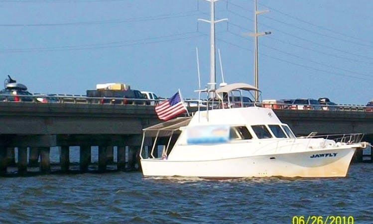 "Enjoy ""Jawfly"" 45ft Boat Fishing Charter in Albemarle Sound"