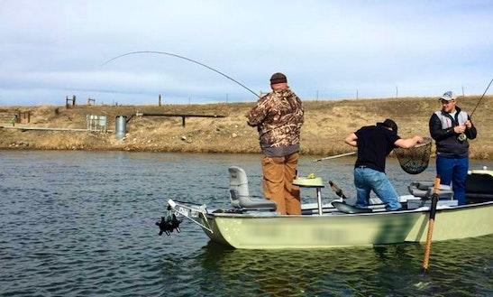 Bass Boat Fishing Charters In Casper, Wyoming