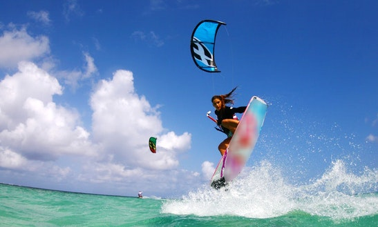 Kite-boarding Lessons At Lake Macquarie And Newcastle