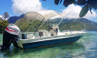 Private Boat Tours or Rental Boat in Moorea