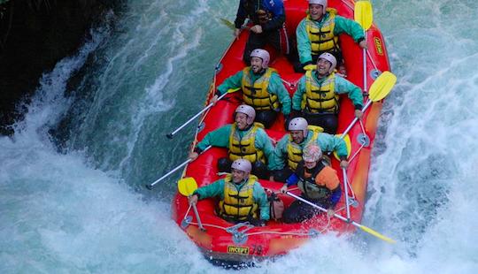 Rafting In Rotorua, New Zealand