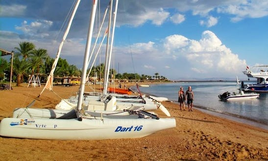 Rent Dart 16 Beach Catamaran In Red Sea Governorate, Egypt