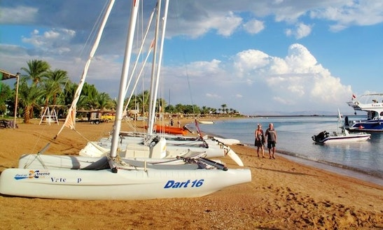 Rent Dart 16 Beach Catamaran In Red Sea Governorate, Egypt