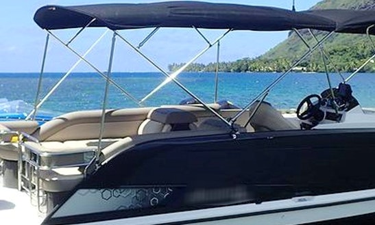 Pontoon Rental In Moorea, French Polynesia