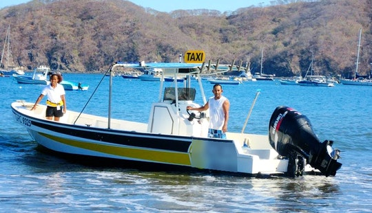 Water Taxi And Eco Tour Rental In Playa Del Coco, Guanacaste, Costa Rica