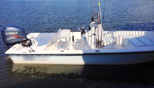 Best New Orleans Fishing Charter On 24' Pathfinder Fishing Boat