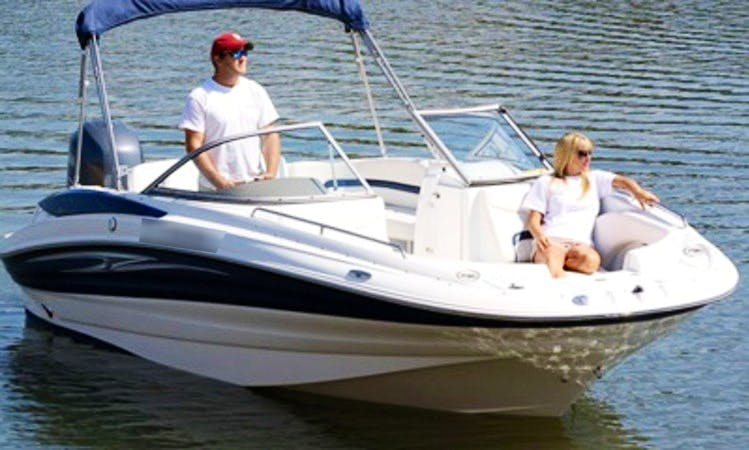 Rent 22' Deck Boat In Islamorada, Florida