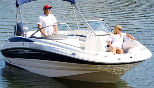 Rent 22' Deck Boat In Islamorada, Florida