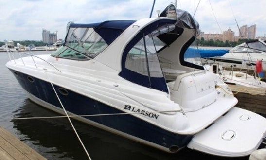 Rent 36' Larson Motor Yacht In Kyiv, Ukraine