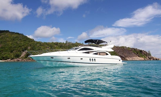 Charter A Power Mega Yacht In Victoria, Seychelles