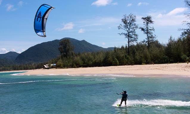 Enjoy Kitesurfing in Kambera, Indonesia