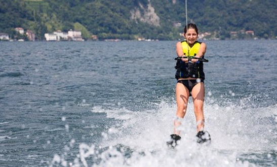 Enjoy Water Skiing In Lausanne, Switzerland