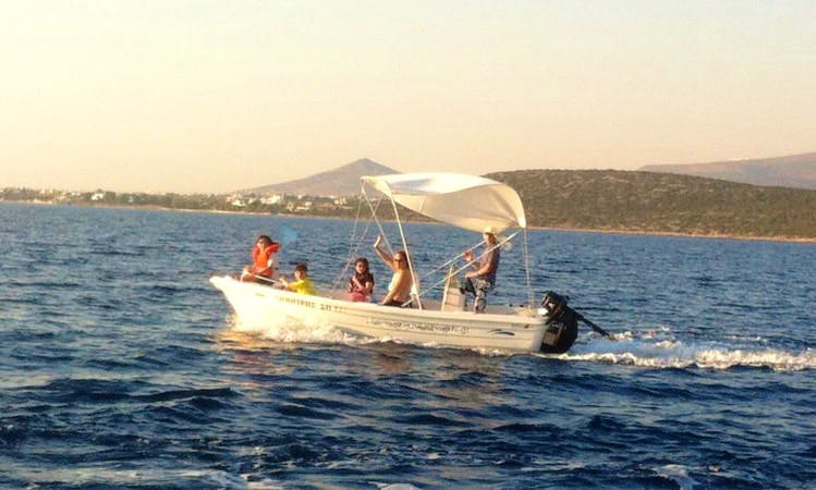 Center Console for 5 People for Rent in Paros, Greece
