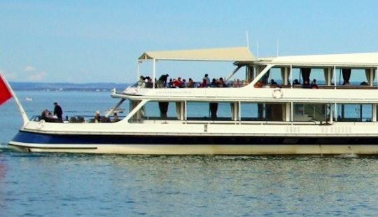 Charter 168' Ms St. Gallen Passenger Boat In Romanshorn, Switzerland