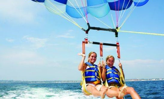 Parasailing Adventure For 2 Person In Quatre Cocos, Mauritius