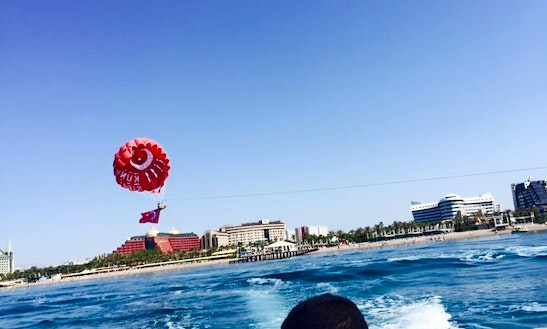 Enjoy Parasailing In Antalya, Turkey For 1 Pax
