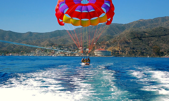 Enjoy Parasailing In Antalya, Turkey For 3 Pax