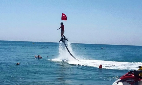 Affordable And Fun Flyboarding Ride In Antalya, Turkey!