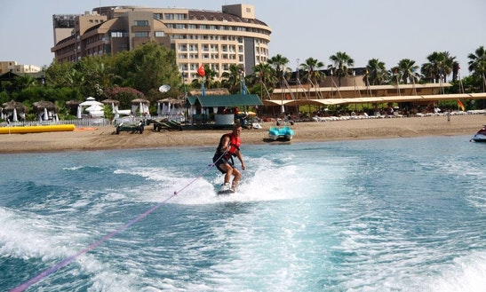 Learn Wakeboarding From The Experter In Antalya, Turkey