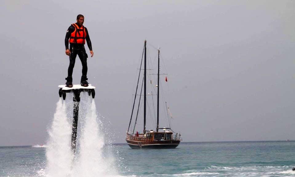 Enjoy Jet Board in Antalya, Turkey