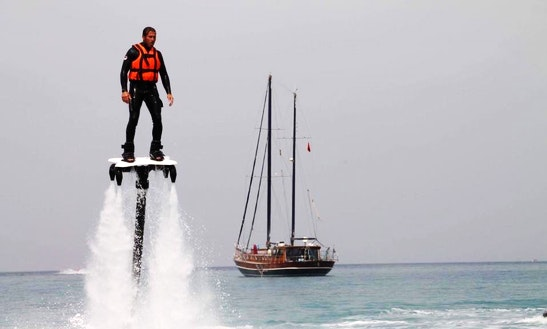 Enjoy Jet Board In Antalya, Turkey