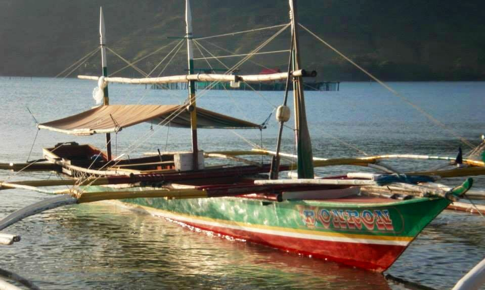 Charter a Traditiopnal Boat in Paracale, Philippines