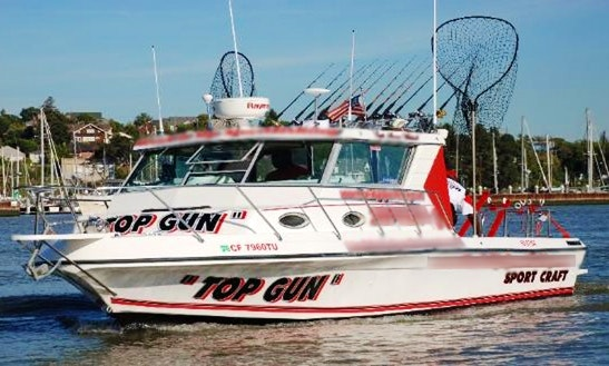 'top Gun' Boat Fishing Charter In Vallejo